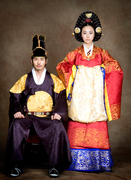Traditional korean wedding dress mir for Korean wedding dress traditional