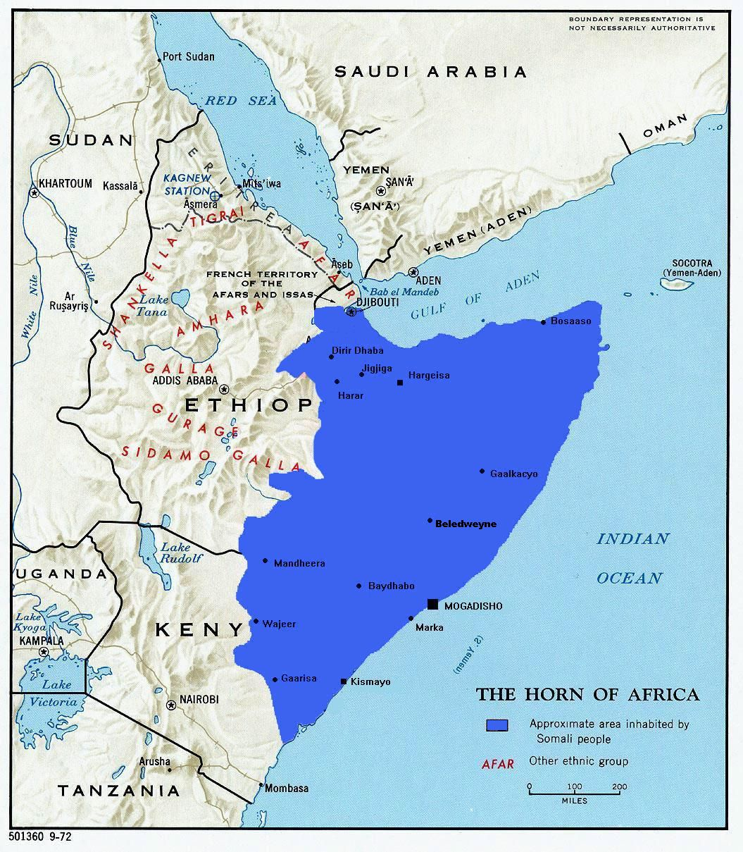 The Disputed Ogaden: the Roots of Ethiopia and Somalia's